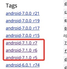 android 7.1 source code