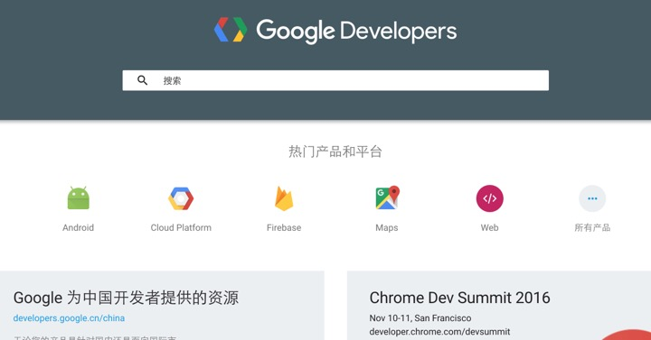 Google Developer CN